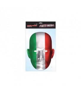 Maschera cartoncino Italia 1 pz