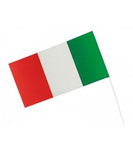 Bandiera con stecca 12 x 23 cm ITALIA 1 pz
