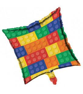 """Pallone foil 18"""" - 45 cm Block Party 1 pz"""