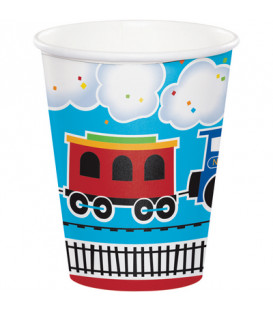 Bicchiere 266 ml Trenino All Aboard 8 pz