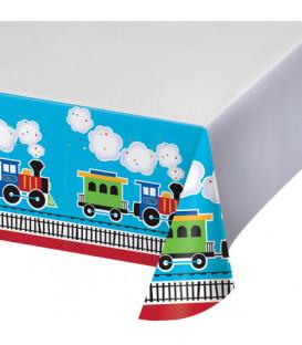 Tovaglia plastica Trenino All Aboard 1 pz