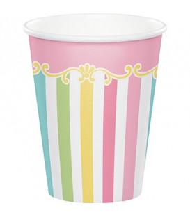 Bicchiere carta 266 ml Giostra - Carousel 8 pz