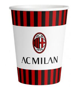 Bicchiere carta 266 ml Milan 8 pz