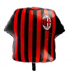 "Pallone foil Supershape 24"" - 60 cm Maglietta Milan 1 pz"