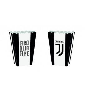 Contenitore cartoncino 13,5 x 8,5 x 19 cm Juventus 4 pz