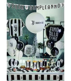 Bandierine Cocktail Juventus H.6,5 x W.5 cm 24 pz