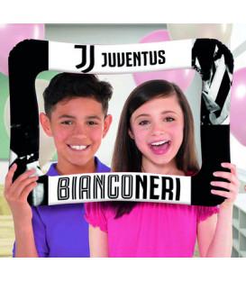 Pallone foil Cornice Photo Booth 40 x 58 cm Juventus 1 pz
