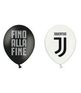"""Palloni lattice 12"""" - 30 cm Juventus 12 pz"""