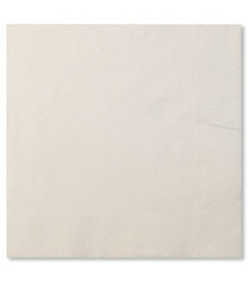 Tovaglioli Compostabili 33 x 33 cm 3 veli Bianco 3 confezioni