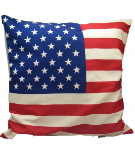 Cuscino Bandiera USA