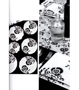 Piatti Piani di Carta a Petalo Persia 27 cm