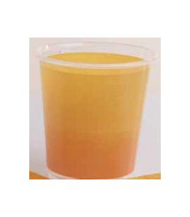 Bicchieri di Plastica Bicolore Giallo - Arancione 250 cc