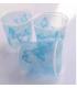 Bicchieri di Plastica PPL Farfalla Turchese 250 cc 3 confezioni