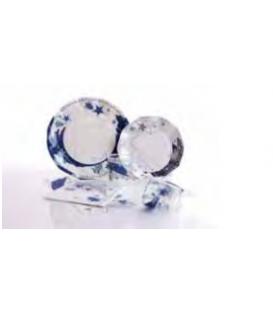 Bicchieri di Plastica Stella Blu 250 cc