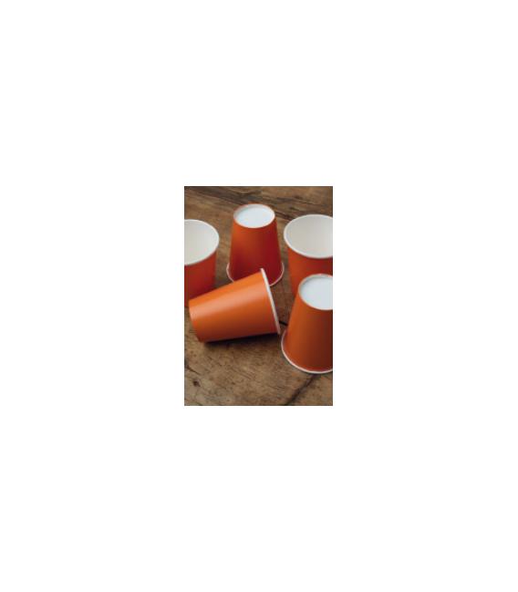 Bicchieri Compostabili Arancione 250 cc