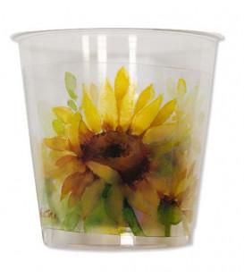 Bicchieri di Plastica Sunflower 300 cc