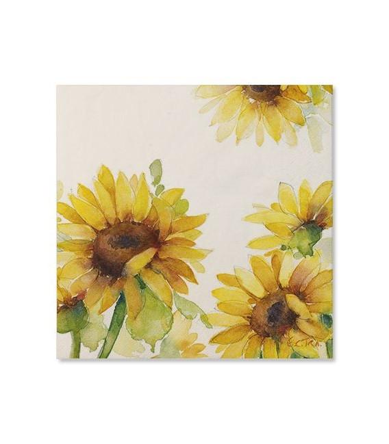 Tovaglioli Sunflower 33 x 33 cm 20 Pz