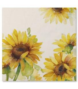Tovaglioli Sunflower 33 x 33 cm 3 confezioni