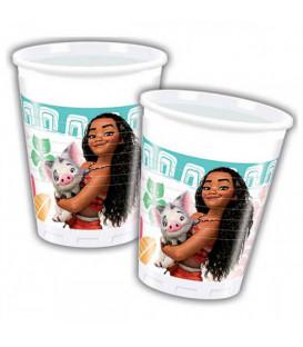 Bicchieri 200 ml Oceania Disney Moana 8 Pz