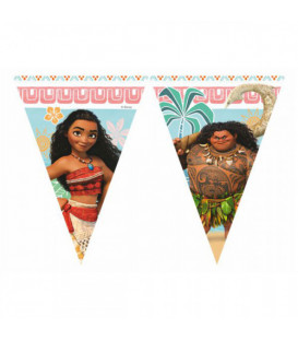 Festone Bandierine Oceania Disney Moana 1 Pz 2,30 mt