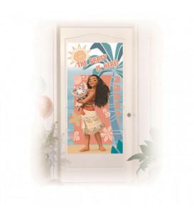 Festone Copriporta 76 x 152 cm Oceania Disney Moana 1 Pz
