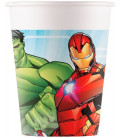 Bicchiere carta 200 ml Mighty Avengers 8 pz