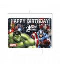Candelina Avengers 9 x 8 cm 1 Pz