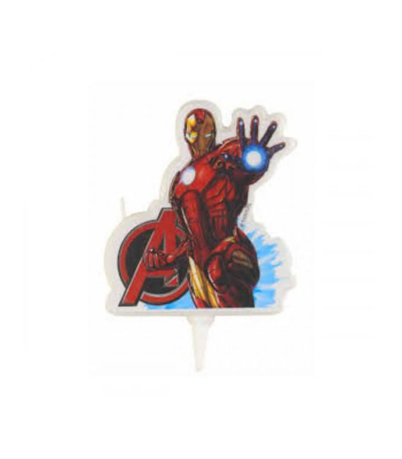 Candela Iron Man 8 cm 1 Pz