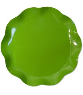 Vassoio Tondo 30 cm Verde Prato 1 Pz