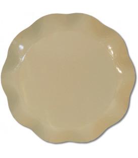 Vassoio Tondo 30 cm Tortora 1 Pz