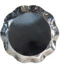 Vassoio Tondo 30 cm Argento Lucido 1 Pz
