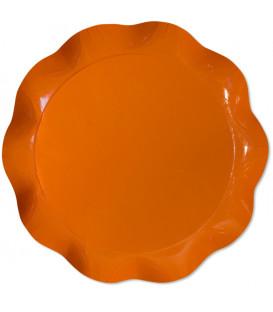 Vassoio Tondo 30 cm Arancione 1 Pz