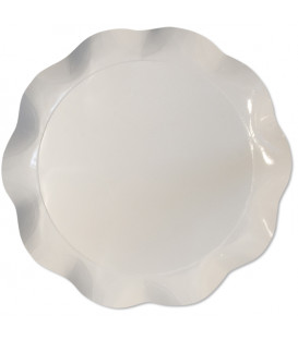 Vassoio Tondo 30 cm Bianco 1 Pz
