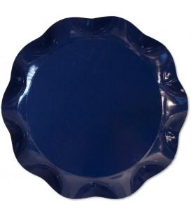 Vassoio Tondo 30 cm Blu notte 1 Pz