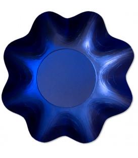 Zuppiera Grande Tonda Blu Satinato 35 cm 1 Pz