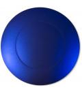 Sottopiatto Piano Blu Satinato 34 cm 4 Pz
