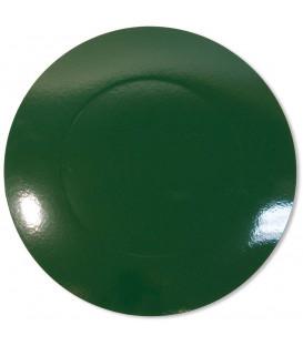 Sottopiatto Piano Verde scuro 34 cm 4 Pz