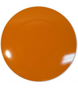Sottopiatto Piano Arancione 34 cm 4 Pz