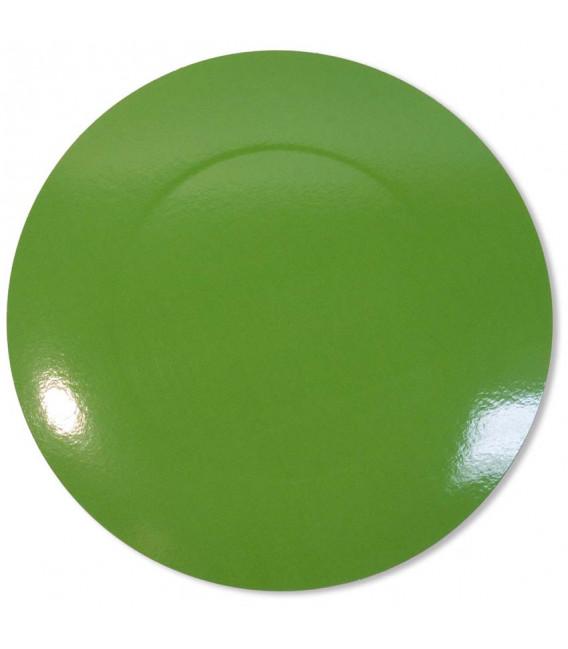 Sottopiatto Piano Verde Prato 34 cm 4 Pz