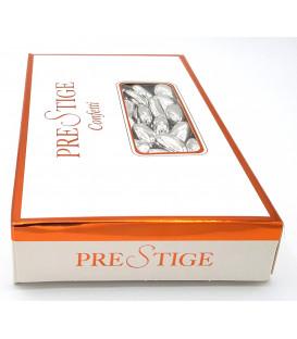 Scatola Confetti Prestige mandorla Argento 1Kg