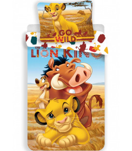 Lenzuola Disney Il Re Leone letto singolo 140×200 cm, 70×90 cm