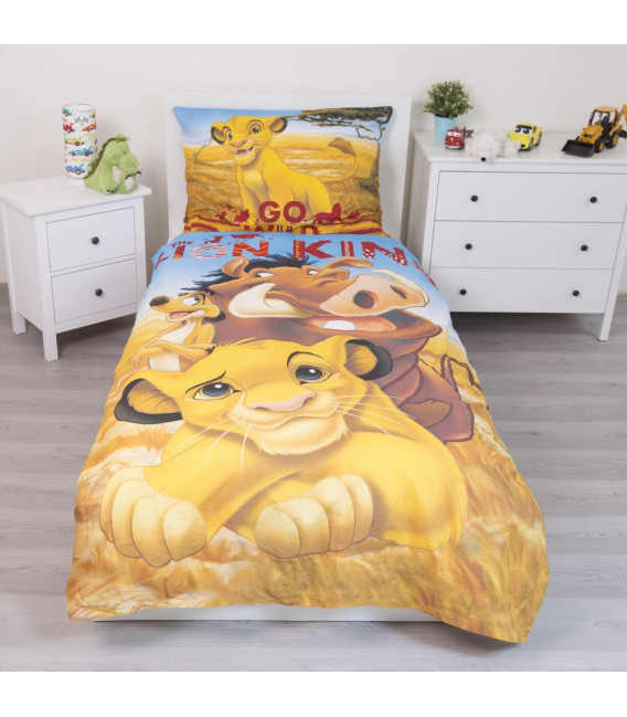 Lenzuola Disney Il Re Leone letto singolo