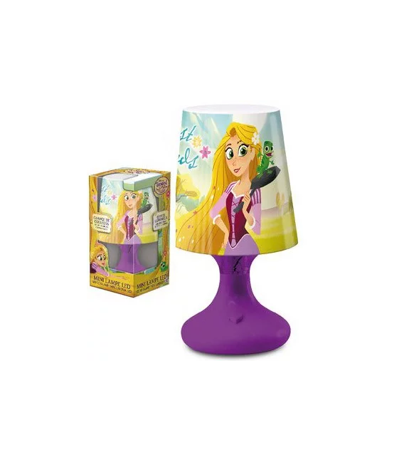 Lampada a LED Disney Princess Rapunzel 18 cm