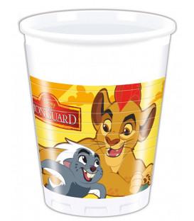 Bicchieri di Plastica 200 ml Il Re Leone Disney