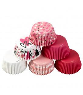 Cupcake Pirottini San Valentino tradizionale 150 Pz Wilton