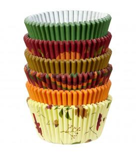 Cupcake Pirottini Autunno 150 Pz Wilton