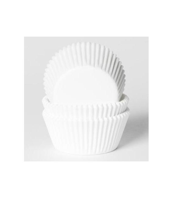Cupcake Pirottini Bianco 500 Pz House of Marie
