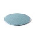 Sottotorta Vassoio Rigido Tondo Azzurro H 1,2 cm