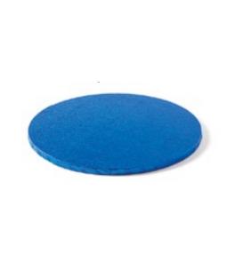 Sottotorta Vassoio Rigido Tondo Blu H 1,2 cm