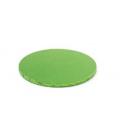Sottotorta Vassoio Rigido Tondo Verde Chiaro H 1,2 cm